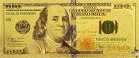 Amerika 100 $ biljet in goud