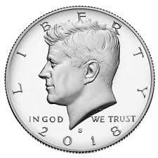 Amerika Halve dollar Kennedy D 2018
