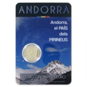 Blister Andorra jaar 2017