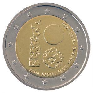 Uitgegeven ter ere van het 100-jarig bestaan van Estland als onafhankelijke staat.
