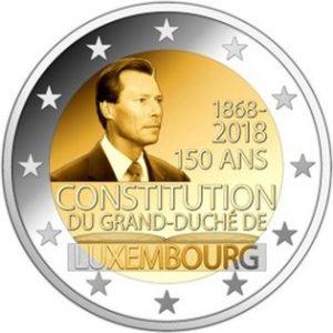 Ter ere van de 150ste verjaardag van de Luxemburgse grondwet.