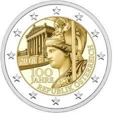 Ter ere van de 100ste verjaardag van de Republiek Oostenrijk.