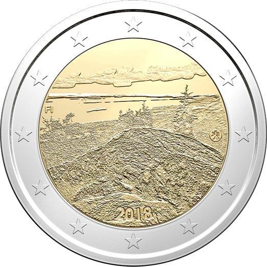 Muntenhandel Drievliet Finland 2 euromunt 2018